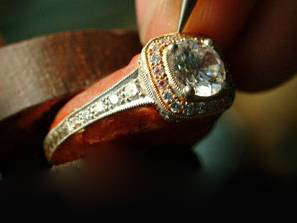 Carl Blackburn Custom Engagement Ring.