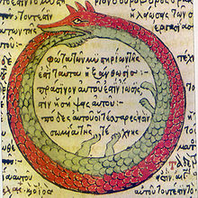 An example of An example of the Ouroboros, which inspired the design of some early Egyptian eternity rings.