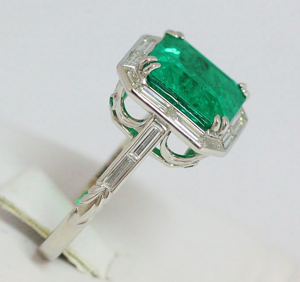 New Designer Emerald Jewelry By Carl Blackburn