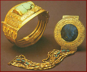 Gold from King Tutankhamun's Tomb